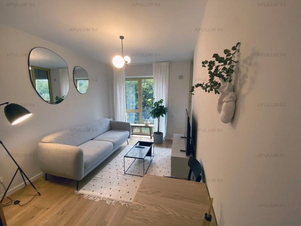 Apartament 2 Camere Mobilat Utilat Premium Aviatiei Bloc Nou