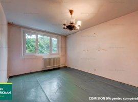 Apartament 2 camere decomandat, bloc 4 etaje reabilitat, Piata Rahova