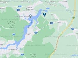 Loturi teren constructii, zona linistita intre padure si lac, Gruiu, Snagov