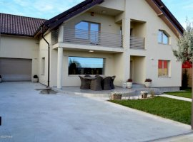 Bradu - Geamana, casa noua la cheie, 4 dormitoare si birou, 3 bai.