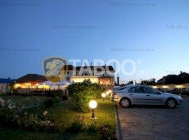 Hotel si restaurant cu terasa de vanzare in Sebes judetul Alba