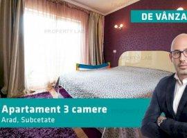 Apartament cu 3 camere de vânzare în Subcetate