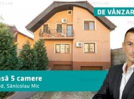 Casă 5 camere, Arad, Sânicolau Mic