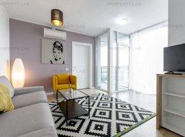 De închiriat: Apartament modern cu balcon.
