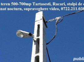 Vanzare  terenuri constructii  500 mp Dambovita, Racari  - 8500 EURO