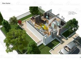 Vanzare  casa  2 camere Bucuresti, Straulesti  - 113550 EURO