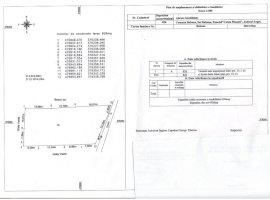 Vanzare  terenuri constructii  826 mp Arges, Babana  - 0 EURO