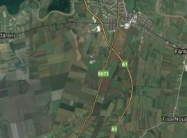 Vanzare  terenuri constructii  120 ha Arad, Sagu  - 10000 EURO
