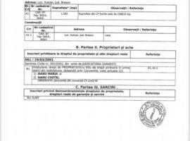 Vanzare  terenuri constructii Brasov, Vulcan  - 95000 EURO