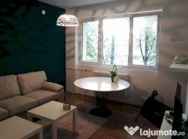 Inchiriere  apartament  cu 2 camere  semidecomandat Bucuresti, Baba Novac  - 475 EURO lunar