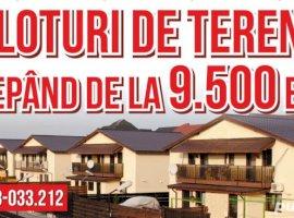 Vanzare  terenuri constructii  64.3 ha Bacau, Sanduleni  - 9500 EURO