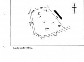 Vanzare  terenuri constructii  3634 mp Valcea, Muereasca  - 18000 EURO