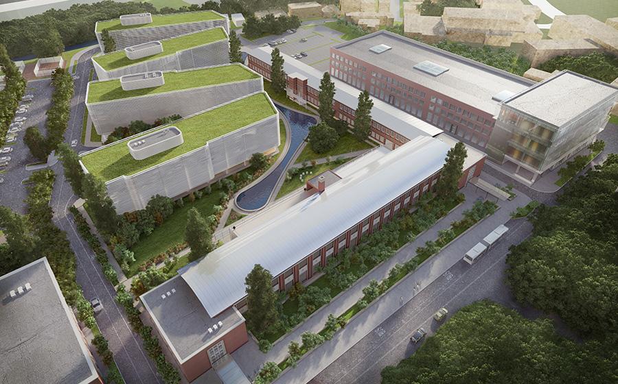Prima faza a unui parc tehnologic de 25 mil. Euro din Cluj, finalizata