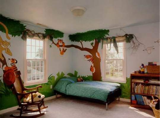 Amenajarea camerei de copii