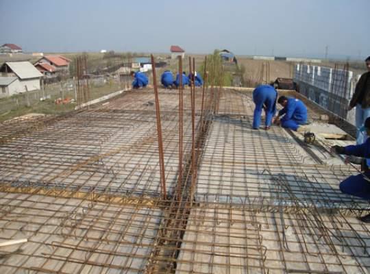 Lucrarile de constructii, in scadere fata de anul trecut