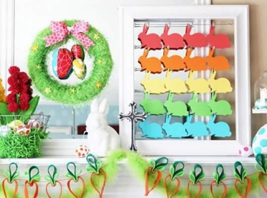 Decorează-ți casa pentru Paște