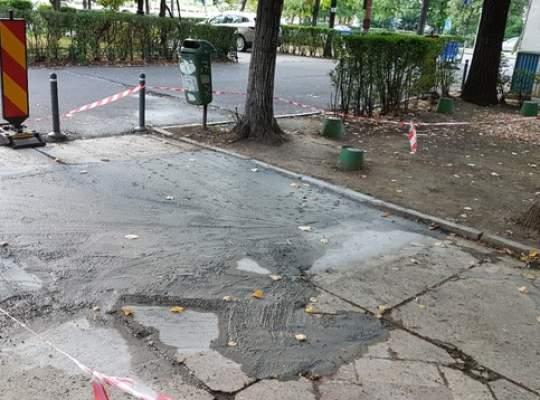 """Cum se lucrează într-o """"Capitală Europeană Smart"""": Un bulevard considerat a fi monument istoric este distrus sistematic"""