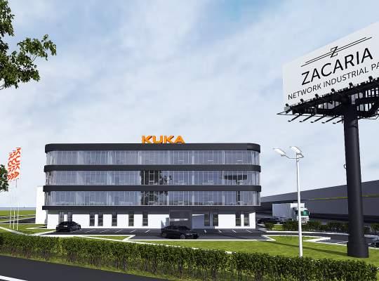 Zacaria livreaza prima cladire din cel mai mare parc industrial din Sibiu