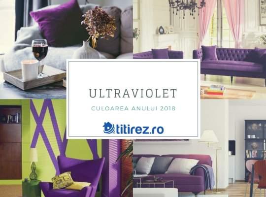 Culoarea anului 2018 a fost stabilita: Ultra Violet