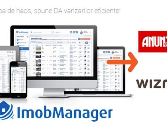 Noi functionalitati Imobmanager: Export automat spre Wizmo.ro si Anuntul Telefonic