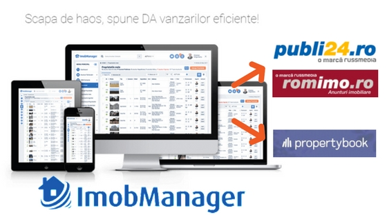 Noi functionalitati Imobmanager: Export automat spre Romimo, Publi24 si Propertybook