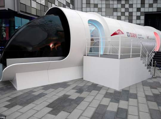 Transportul viitorului: 1200 de km/h in capsule de mare viteza
