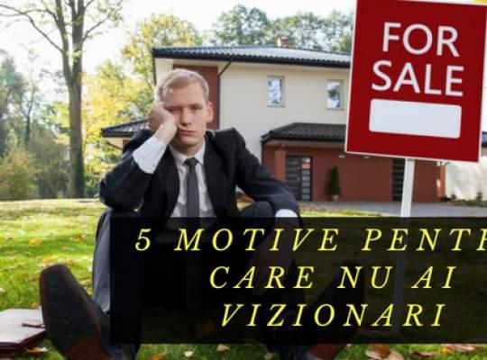 Sfaturi imobiliare de la specialistii Titirez.ro: 5 motive pentru care nu ai suficiente vizionari!