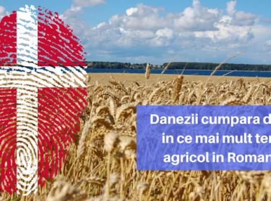 Danezii cumpara din ce in ce mai mult teren agricol in Romania! Ce companie este al patrulea cel mai mare latifundiar din tara?