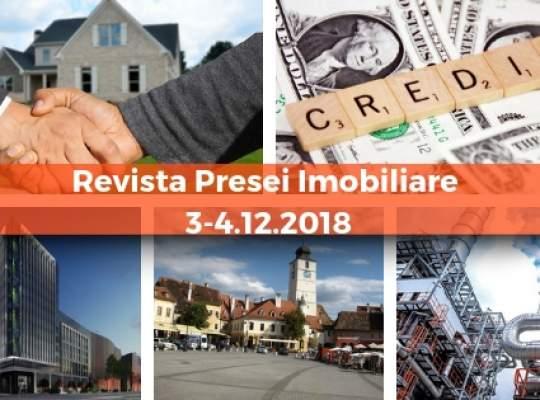 Revista Presei imobiliare: cele mai importante stiri imobiliare din 3-4 decembrie!