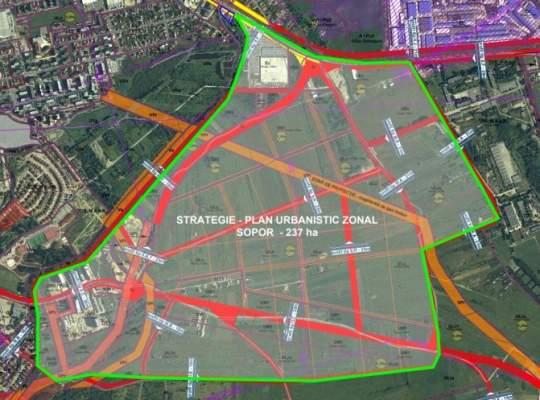 Sopor - cartierul nou care va debloca piata imobiliara din Cluj. 237 de hectare libere pentru constructii!
