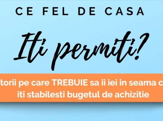 Infografic by Titirez.ro: Ce fel de casa iti PERMITI?