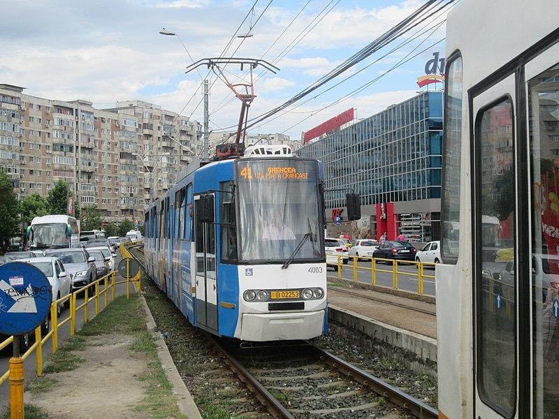 Dificultati pe cea mai tranzitata linie de tramvai din Bucuresti! Tramvaiul 41 nu mai circula pana in 1 septembrie