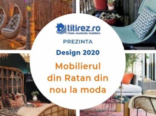 Design 2020  - Mobilierul din Ratan din nou la moda