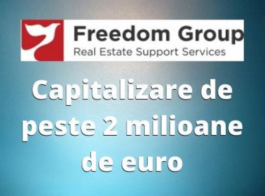 Comunicat de presa: Freedom Group ajunge la o capitalizare de peste 2 milioane euro