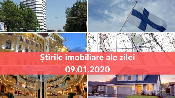 Revista Presei Imobiliare 09.01.2020 - Cele mai importante stiri imobiliare ale zilei!