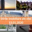 Cele mai importante stiri imobiliare ale zilei - Revista Presei Imobiliare (13.01.2020)