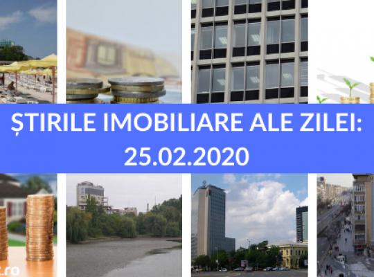 Revista Presei Imobiliare - cele mai importante stiri ale zilei intr-un singur loc! 25.02.2020