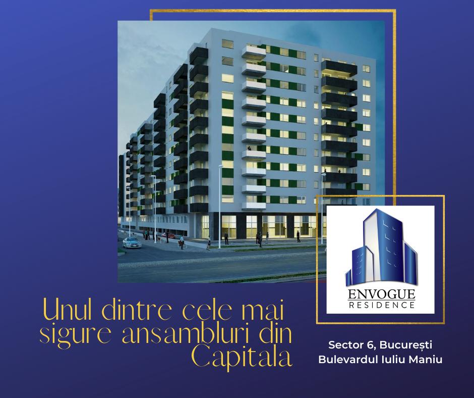 Envogue Residence: Investiții de peste 17 milioane de euro în construcții și sisteme de siguranță antiincendiu și antiseismice